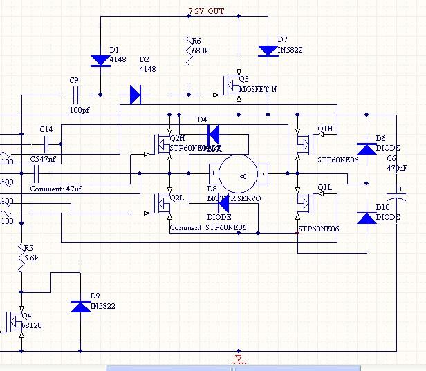 求一个直流电机驱动电路图